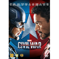 Captain America 3 - Civil War (DVD)