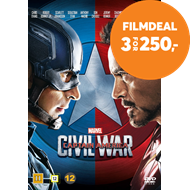 Produktbilde for Captain America 3 - Civil War (DVD)