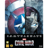 Captain America 3 - Civil War - Steelbook Edition (BLU-RAY)