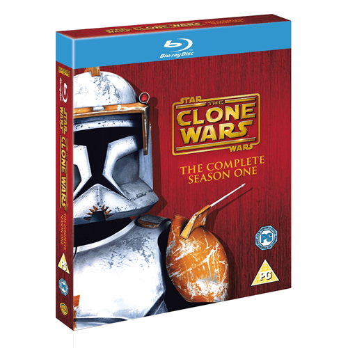 Star Wars - The Clone Wars - Sesong 1 (UK-import) (BLU-RAY)