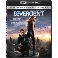 The Divergent Series: Divergent (4K Ultra HD + Blu-ray)