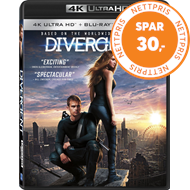 Produktbilde for The Divergent Series: Divergent (4K Ultra HD + Blu-ray)