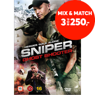 Produktbilde for Sniper - Ghost Shooter (DVD)