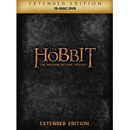 Produktbilde for The Hobbit Trilogy - Extended Edition (UK-import) (DVD)