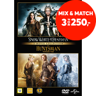 Produktbilde for Snow White & The Huntsman / The Huntsman: Winter's War (DVD)