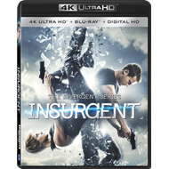 The Divergent Series: Insurgent (4K Ultra HD + Blu-ray)