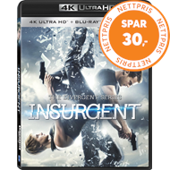 Produktbilde for The Divergent Series: Insurgent (4K Ultra HD + Blu-ray)