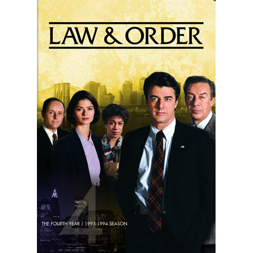 Law & Order - Sesong 4 (DVD - SONE 1)