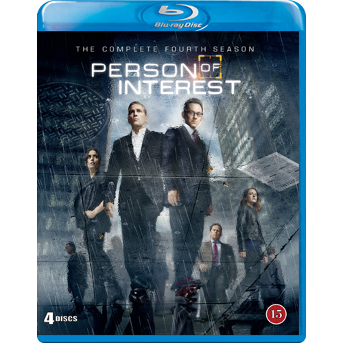 Person Of Interest - Sesong 4 (BLU-RAY)