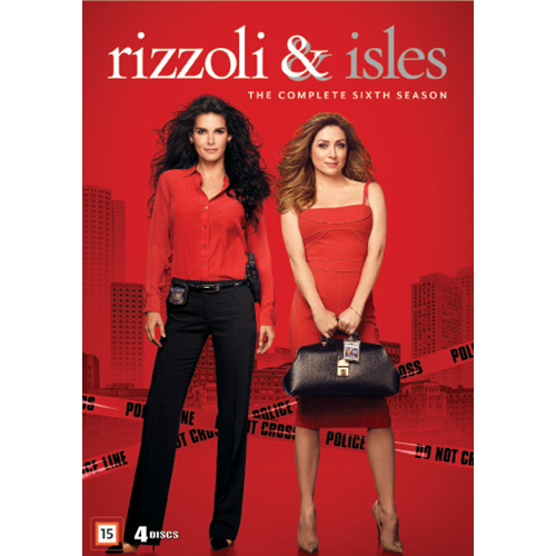 Rizzoli & Isles - Sesong 6 (DVD)