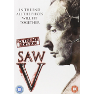 Saw 5 - Extreme Edition (UK-import) (DVD)