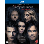 The Vampire Diaries - Sesong 1 - 7 (BLU-RAY)