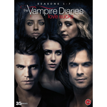 The Vampire Diaries - Sesong 1 - 7 (DVD)