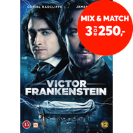 Produktbilde for Victor Frankenstein (DVD)