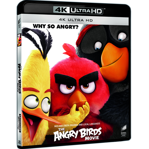 Angry Birds Filmen (4K Ultra HD + Blu-ray)