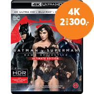 Produktbilde for Batman v Superman: Dawn Of Justice - Ultimate Edition  (4K Ultra HD + Blu-ray)