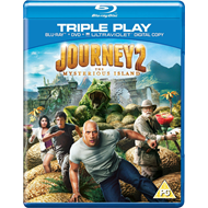 Journey 2 - The Mysterious Island (UK-import) (Blu-ray + DVD)