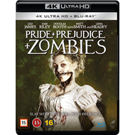 Pride And Prejudice And Zombies (4K Ultra HD + Blu-ray)