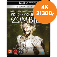 Produktbilde for Pride And Prejudice And Zombies (4K Ultra HD + Blu-ray)