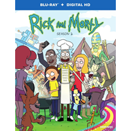 Rick And Morty - Sesong 2 (BLU-RAY)