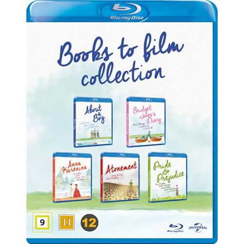 Books To Film Collection (DK-import) (BLU-RAY)