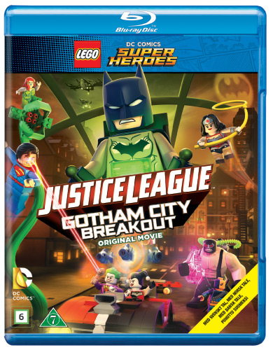 LEGO Justice League - Gotham Breakout (BLU-RAY)