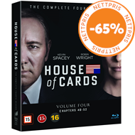 Produktbilde for House Of Cards - Sesong 4 (BLU-RAY)