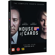 House Of Cards - Sesong 4 (DVD)