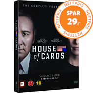 Produktbilde for House Of Cards - Sesong 4 (DVD)