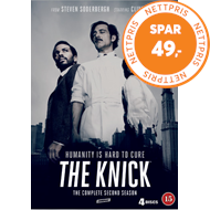Produktbilde for The Knick - Sesong 2 (DVD)