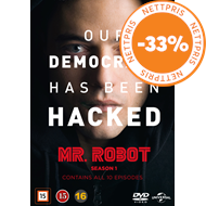 Produktbilde for Mr. Robot - Sesong 1 (DVD)