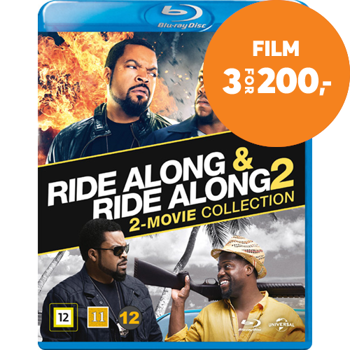 Ride Along 1 & 2 (BLU-RAY)