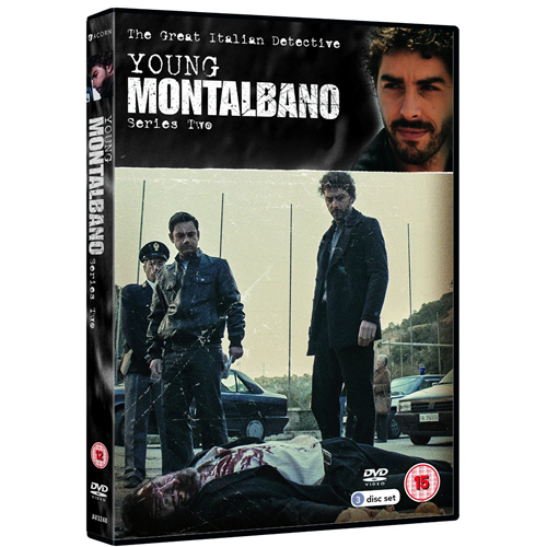 The Young Montalbano - Sesong 2 (UK-import) (DVD)
