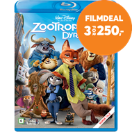 Produktbilde for Zootropolis (BLU-RAY)