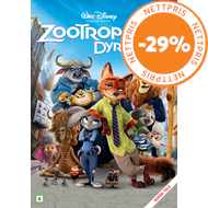 Produktbilde for Zootropolis (DVD)