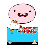 Adventure Time - Sesong 3 (UK-import) (DVD)