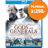 Produktbilde for Gods And Generals - Director's Cut (BLU-RAY)