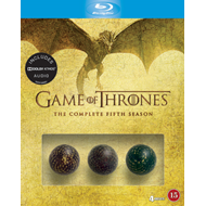 Game Of Thrones - Sesong 5: Exclusive Dragon Egg Box (BLU-RAY)