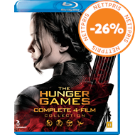 Produktbilde for The Hunger Games - Complete 4-Film Collection (BLU-RAY)