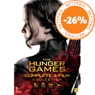 Produktbilde for The Hunger Games - Complete 4-Film Collection (DVD)