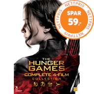 The Hunger Games - Complete 4-Film Collection (DVD)
