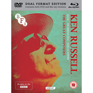 Produktbilde for The Ken Russell Collection - The Great Composers (UK-import) (Blu-ray + DVD)