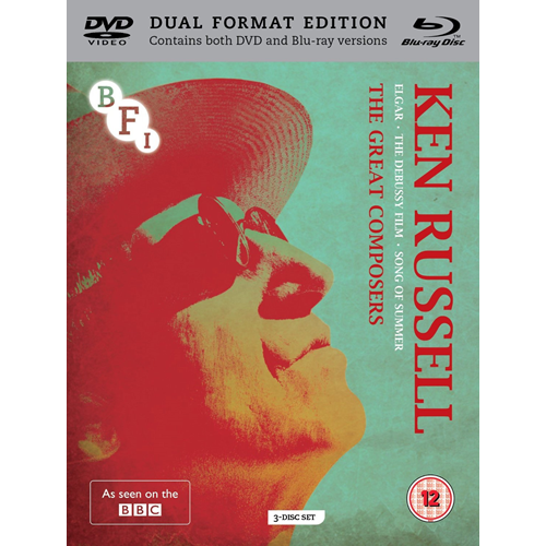 The Ken Russell Collection - The Great Composers (UK-import) (Blu-ray + DVD)