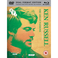 Produktbilde for The Ken Russell Collection - The Great Passions (UK-import) (Blu-ray + DVD)