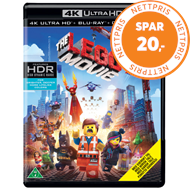 Produktbilde for The Lego Movie (4K Ultra HD + Blu-ray)
