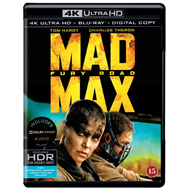 Produktbilde for Mad Max - Fury Road (4K Ultra HD + Blu-ray)