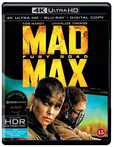 Mad Max - Fury Road (4K Ultra HD + Blu-ray)