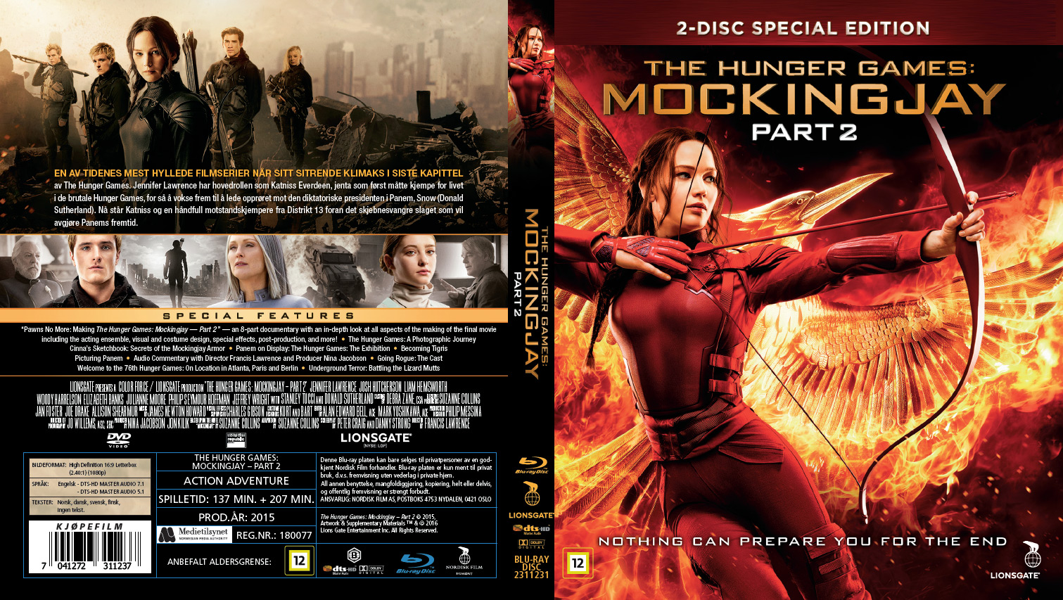 THE HUNGER GAMES MOCKINGJAY  PART 2  Movieguide