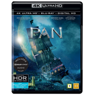 Pan (4K Ultra HD + Blu-ray)