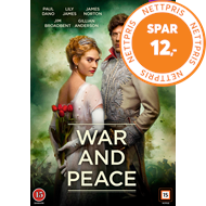 War And Peace (DK-import) (DVD)